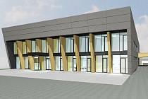 Vizualizace nového technologického areálu společnosti ACE Trade.