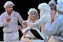 Joseph Haydn: Život na měsíci, Tichá opera Praha.