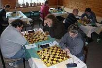 Šachové klání Ústeckých proti Šumperku