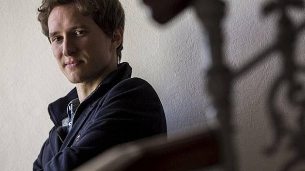 První houslista České filharmonie Josef Špaček.