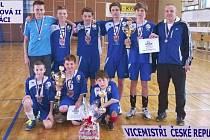 Mladší žáci vybojovali na republikovém mistrovství druhé místo.