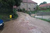 Déšť opět potrápil kraj, nejvíc Orlickoústecko a Svitavsko