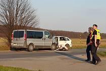 Vážná dopravní nehoda u Vysokého Mýta.