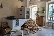 Z natáčení docu-reality Dovolená v éře páry ve Vonwillerově továrně v Žamberku.