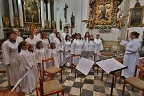 Z Festivalu duchovní hudby svaté Cecilie.