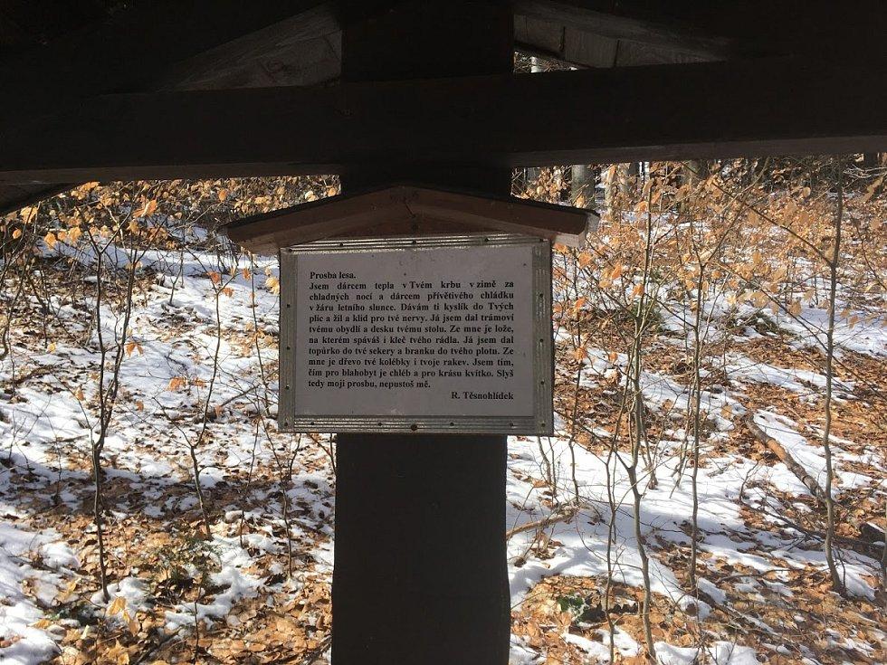 Studenské skály v Orlických horách.
