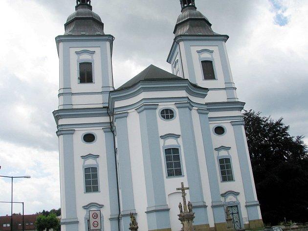 Kostel sv. Václava v Žamberku. Ilustrační foto.