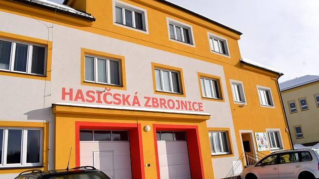 Obec Líšnice o letošní zimě.