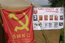 Tradiční setkání komunistů na Lázku.