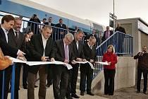 Otevření nové zastávky Červená Voda - Pod Rozhlednou.