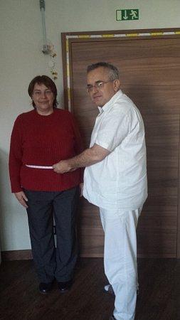 Hana Klacková po zhubnutí