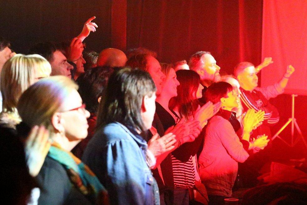 Koncert kapely Stromboli v Ústí nad Orlicí.