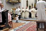 Kardinál Dominik Duka v Ústí nad Orlicí.