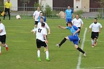 FC Jiskra 2008 B - Rudoltice: Hodinu hry to vypadalo se šancemi Rudoltic na tříbodové vítězství výborně, jenže po snížení se béčko Jiskry nadechlo, dokázalo vyrovnat, a po rozstřelu se radovat z výhry.