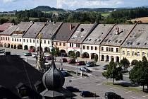 Náměstí v Letohradu. Ilustrační foto.