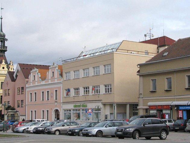 Městský úřad ve Vysokém Mýtě.