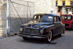 Obrněná Škoda VOS už je součástí expozice v mýtském muzeu českého karosářství.