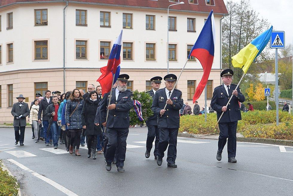 Tři dny věnovali oslavám sto let republiky v Dolní Čermné.