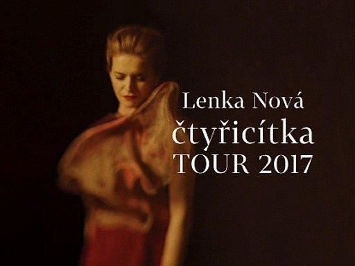 Lenka Nová: Čtyřicítka tour 2017.