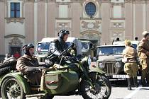 Spanilá jízda vojenské techniky zvala na Cihelnu také v Letohradu.