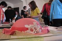Výstava dortů a zákusků na letohradském zámku.