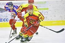 Čínští hokejisté se v České Třebové předvedli v sympatickém světle a publikum se i díky nim v hledišti dobře bavilo.