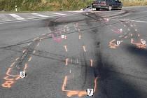 Tragická dopravní nehoda na Šedivci.