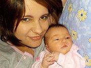 Zuzana Růžičková je prvorozená holčička Martiny Moravcové a Tomáše Růžičky z Nekoře. Na svět přišla s váhou 3250 g dne 9.3. v 10.13 hodin.