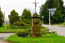 Pomník purkmistra Eduarda Meyera ve Vysokém Mýtě.