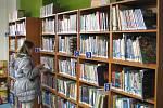 Rekonstruovaná knihovna v České Třebové.