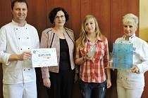 Koprovku uvařenou Michaelou Vlkovou ocenili na soutěži Chuť Česka stříbrem.