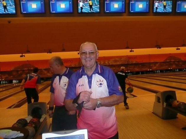 Česká bowlingová reprezentace v Las Vegas.