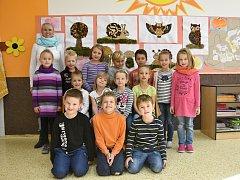 Žáci ze Základní školy v Libchavách.
