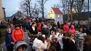 Na svátek svatého Štěpána, 26. prosince, se konal tradiční Živý betlém připravený Římskokatolickou farností Ústí nad Orlicí.