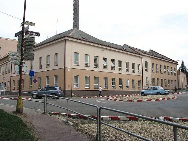 Budova Perly v Ústí nad Orlicí.