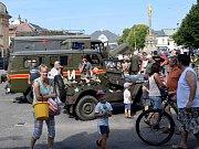 Spanilá jízda vojenské techniky se zastavila v Letohradu.