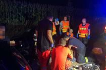 Resuscitace byla marná. Muž vážnou nehodu nepřežil.