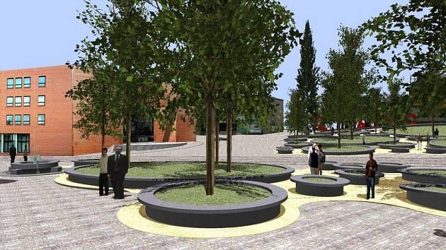 Vizualializace projektu Kociánka v Ústí nad Orlici.