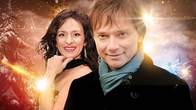 Richard Pachman a Dita Hořínková.