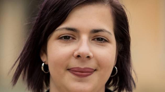 Tereza Hýblová lídryně Strany zelených v Pardubickém kraji.