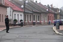 Bezpečnostní opatření na dislokovaném pracovišti Dopravní fakulty Univerzity Pardubice v České Třebové.