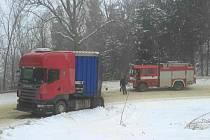 Nehoda v Klášterci nad Orlicí.