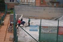 V České Třebové postaví novou tenisovou halu. Tu starou letos demontovali naposledy
