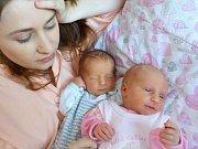 Jakub a Andrea Klementovi jsou dvojčátka Petry a Romana z Lanškrouna. Narodily se dne 14. 9. - Jakoubek s váhou 2500g v 13.21 hodin a Andrejka s váhou 2190 g v 13.27 hodin.