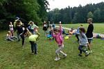 Cesta pro rodinu, z.s., Aktivity v přírodě jako součást příměstského tábora.
