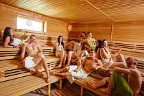 Sauna v Ústí nad Orlicí.