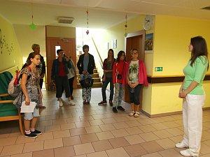 Den otevřených dveří v ústeckém Domově důchodců.