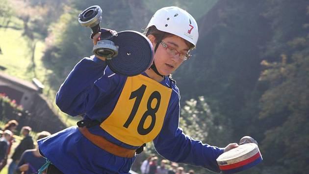 V Černovíře soutěžili mladí hasiči.