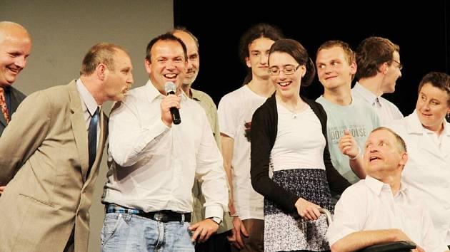 Žampašští na filmovém festivalu Mental Power Prague Film Festival.