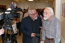 Výstava k osmdesátinám Jarky Bittla.
